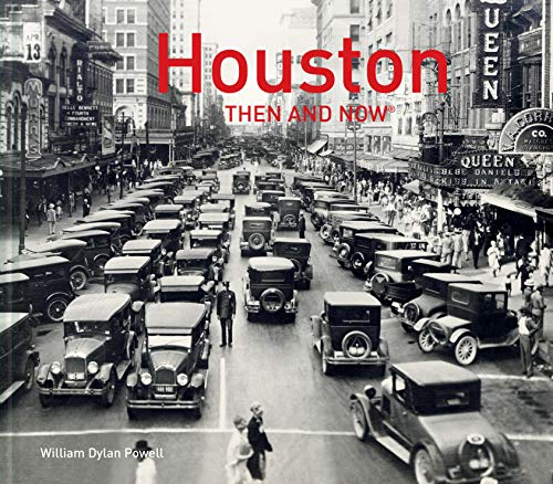 Used, Houston Then and Now® for sale  Delivered anywhere in USA