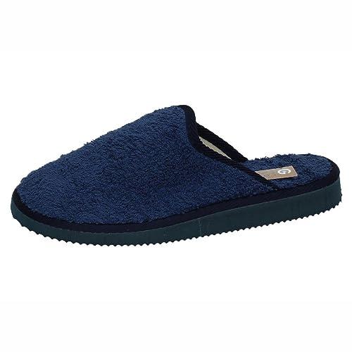 GEMA GARCIA 1916 Zapatillas DE CASA Hombre Zapatillas CASA Azul Marino 42: Amazon.es: Zapatos y complementos