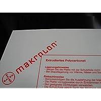 Placas de policarbonato Makrolon®, transparente, diferentes cortes (1