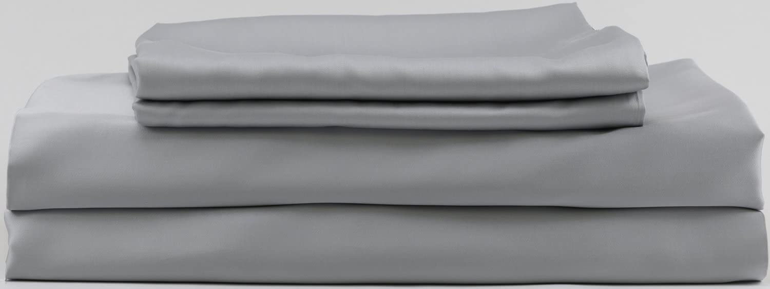 Hotel Sheets Direct 100% Bamboo Duvet Cover (Twin/Twin-XL, Grey)