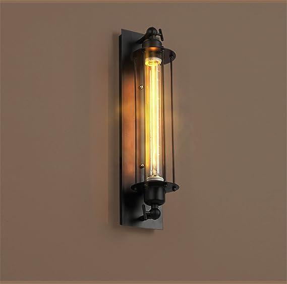 Retro-Lichter Art-D/éco Art Deco silber Wandsteckdose Tianfan Vintage-Industrie-Wandlampe Deckenlampe verstellbare Beleuchtung