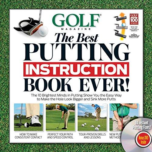 Golf Magazine: The Best Putting Instruction Book Ever! (Book & DVD)
