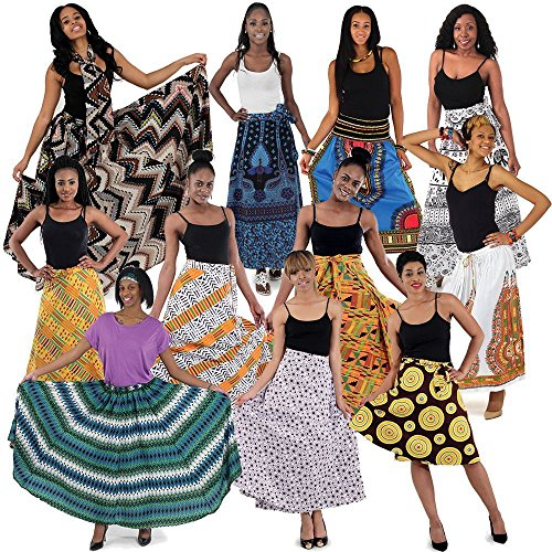 utopia africa Set Of 12 Skirts by utopia africa