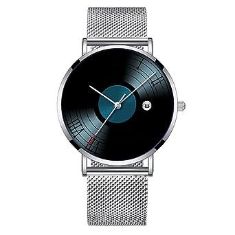 Toque Minimalista Mode Reloj de Pulsera Cuarzo Elite Ultra Thin ...