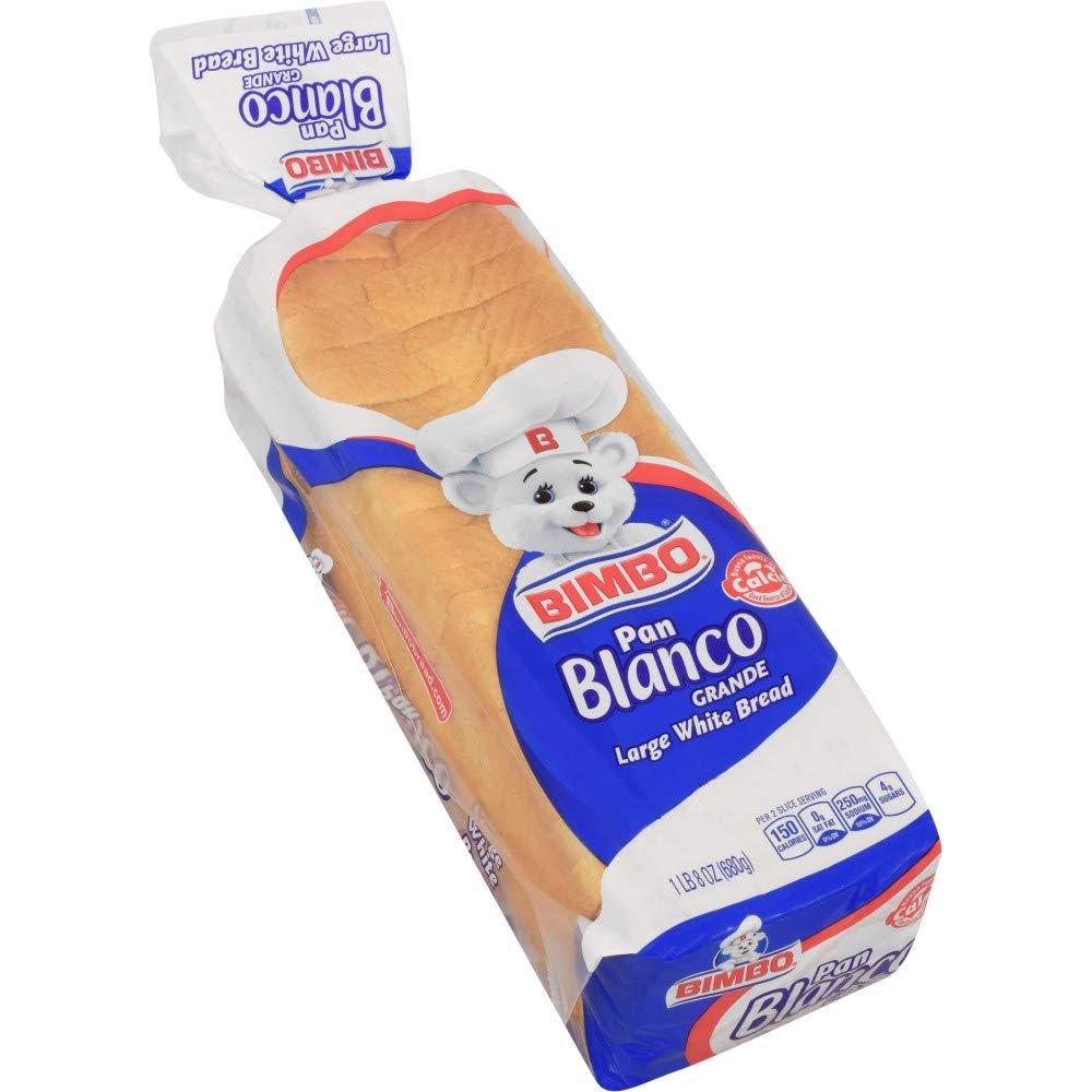 Bimbo Large White Bread, Pan Blanco Grande, 24 oz: Amazon.com: Grocery & Gourmet Food