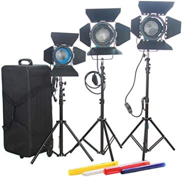CAME-TV 1000W Fresnel Tungsten Video Camera Spot Light