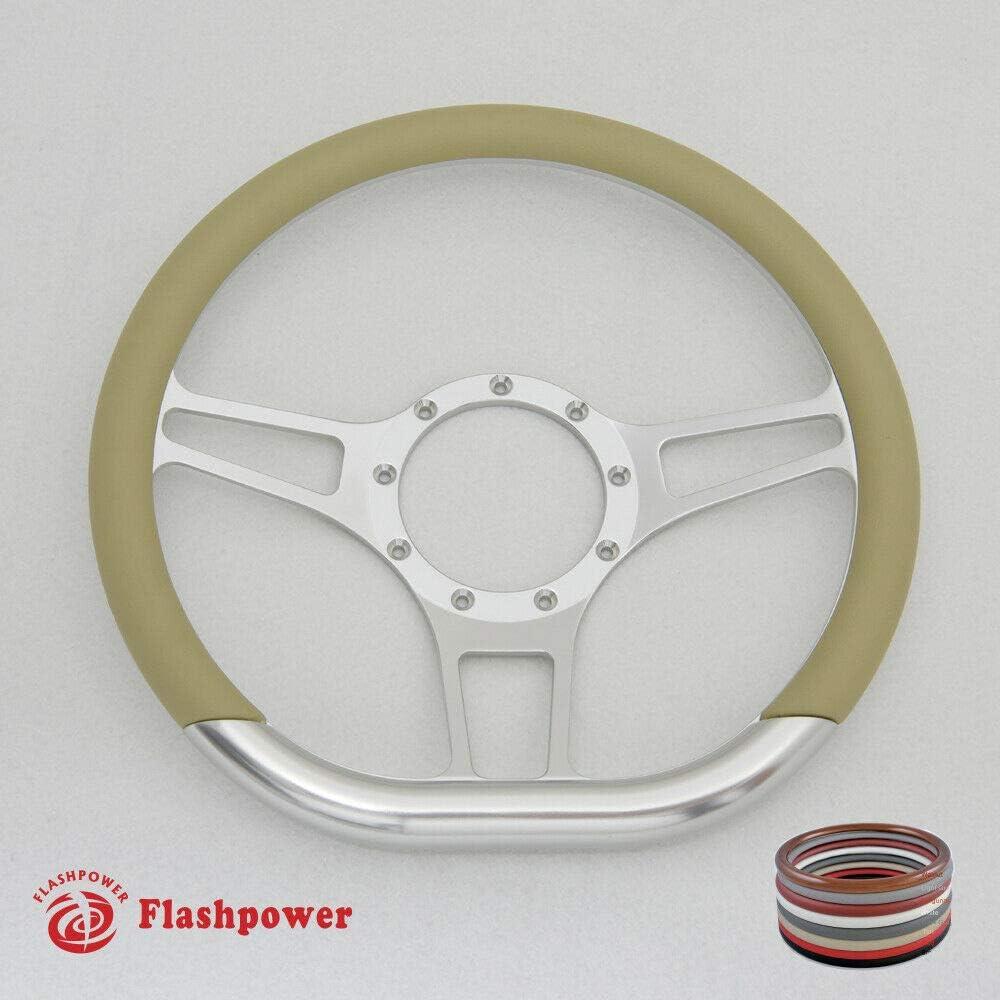 Tan 14 Half Wrap for Flashpower Steering wheels