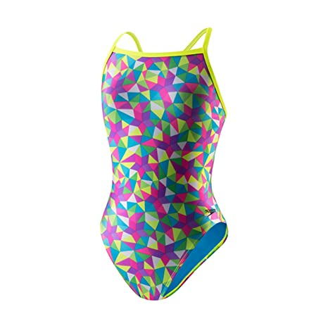444402870d Amazon.com : Speedo Women's Flipturns Star Spangled Propel Back Swimsuit  (28) : Sports & Outdoors