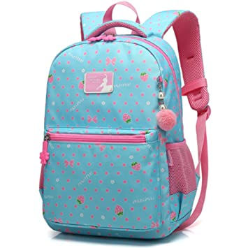 Childrens School Bag Backpack for Primary Girls 7-12 Years Old ... 7dacd22006a8b