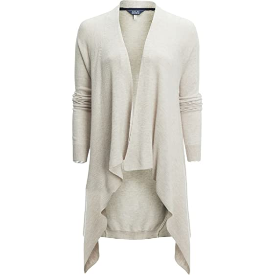 Joules Eriesta Longline Waterfall Ladies Cardigan (V): Amazon.co ...