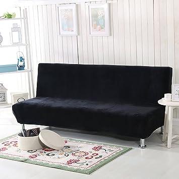 ... de sofá sin Brazos,Tramo de surefit Antideslizante Protector de los Muebles para Perro de Animal doméstico los niños Sofa Cama-Negro: Amazon.es: Hogar