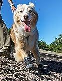 RUFFWEAR GRIP TREX DOG BOOTS ALL TERRAIN RUGGED ALL SIZES & COLORS SET OF 4 (2.5-Inch, Obsidian Black)