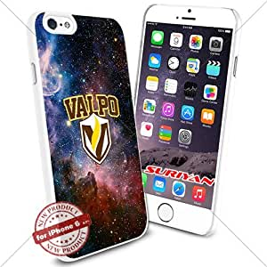 New iPhone 6 Case Valparaiso Crusaders Logo NCAA #1667 White Smartphone Case Cover Collector TPU Rubber [Galaxy]
