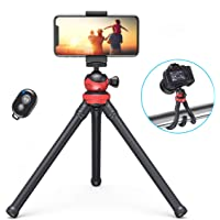 dodocool Gsm-statief Ministatief Flexibel smartphonestatief Camerastatief met gsm-houder en Bluetooth-afstandsbediening…