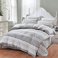 Bedding Sets Full Pillowcases Weighted Blanket for Adults - Twin, Queen King Size Anxiety Blanket,Cool Blankets Providing Calm and Comforting Sleep,Gray_59x78in 25bls