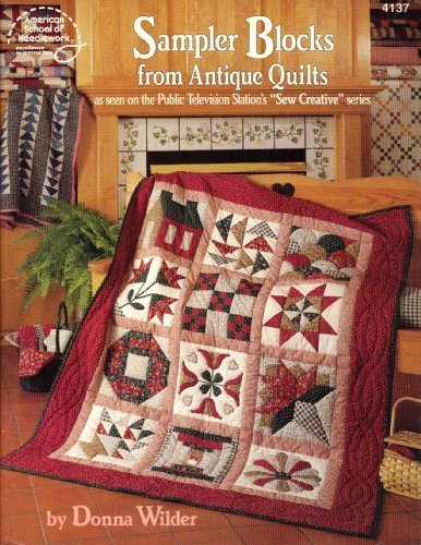 (Sampler blocks from antique quilts)