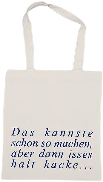 dc545a39eb06d buttons-und-pins Das kannste schon so machen - Baumwolltasche Stoffbeutel  Jutebeutel Stofftasche (