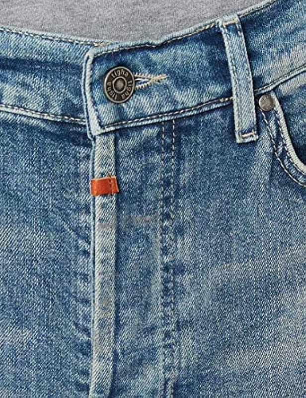 Tigha Męskie dżinsy Morten Slim: Odzież