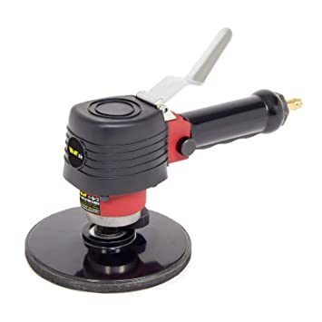 "H-D 6/"" Palm Air Sander Random Orbital D A Sander 10500 RPM with Vacuum dust tool"