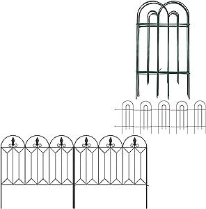 Amagabeli Decorative Garden Fence 32inx20ft Bundle 24inx10ft