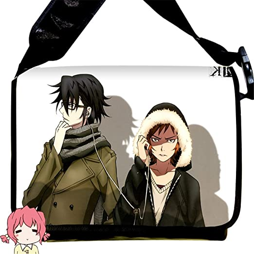 Siawasey Anime K Project Cartoon Saruhiko Fushimi Messenger Bag Shoulder Bag