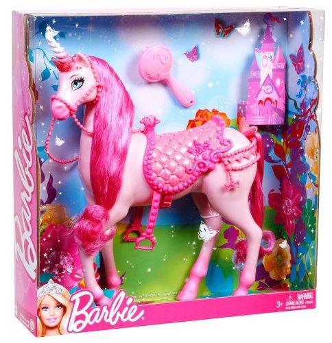 Barbie princess unicorn pink buy online in uae toys - Barbie licorne ...
