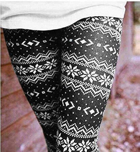 di 16 Fashion Donna Pantaloni Vintage Pantaloni marca Libero Mode Leggings Collant Invernali Colour Stampato Pattern Skinny Eleganti Tempo Autunno A BOLAWOO Elastico Matita q4SvwnBWxx