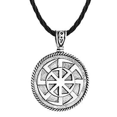 chengxun Nordic Men Viking Necklace Russia Talisman Slavic Amulets