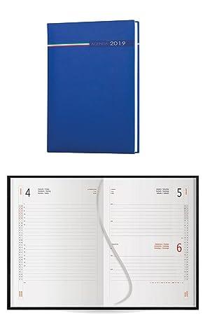 takestop Agenda 2019 Azul Italia Diaria Diario planificador ...