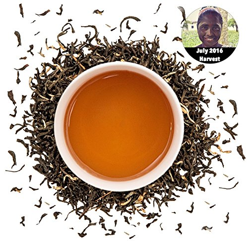 English Breakfast Loose Leaf Tea (English Breakfast Loose Leaf Tea - Fresh 2016 Whole Leaf Indian Second Flush TGFOP Blend Direct from the Source in Assam, India ((7oz - 100)