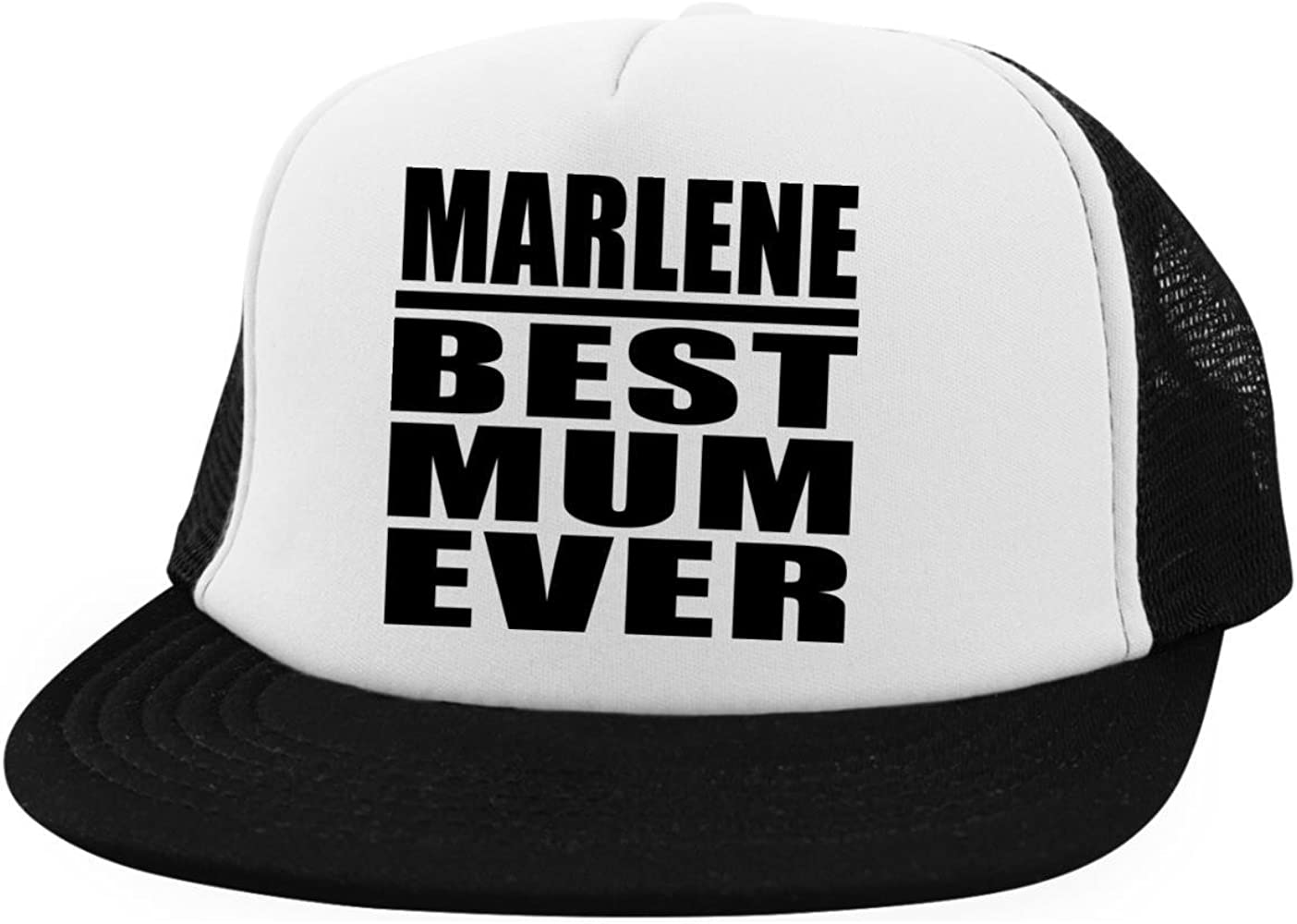 Designsify Marlene Best Mum Ever - Trucker Hat Visera, Gorra de ...