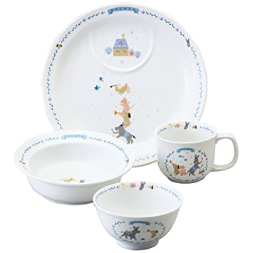 NARUMI (Narumi) Bremen [made in Japan Childrenu0027s tableware] infant strengthening heat set  sc 1 st  Amazon.com & Amazon.com : NARUMI (Narumi) Bremen [made in Japan Childrenu0027s ...