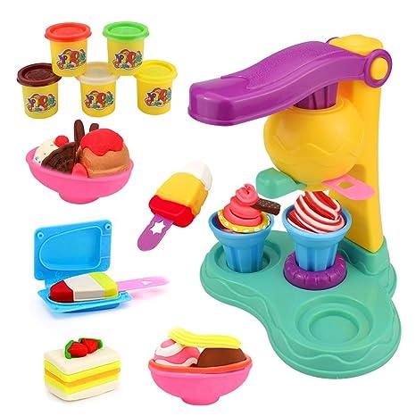 13cba0b25 Jellydog Toy Play Dough Set, Ice Cream Dough Playset, Play Dough for Kids,