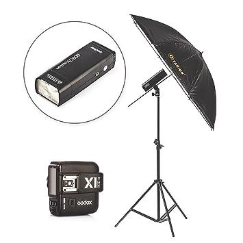 Amazon.com: Godox AD200 bolsillo flash estroboscópico Dos ...