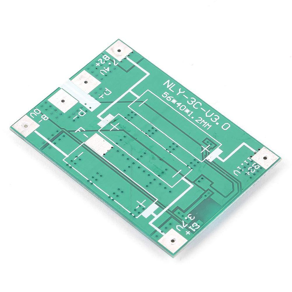 Protection de batterie 40A avec charge de balance pour accessoires de machines industrielles Carte de protection de batterie Li-Batterie de 3S 12V 40A