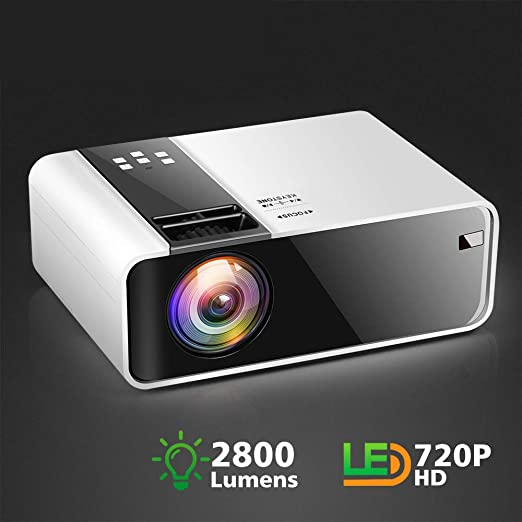 HD Mini Proyector Td90 Native 1280 X 720P Led Android WiFi ...