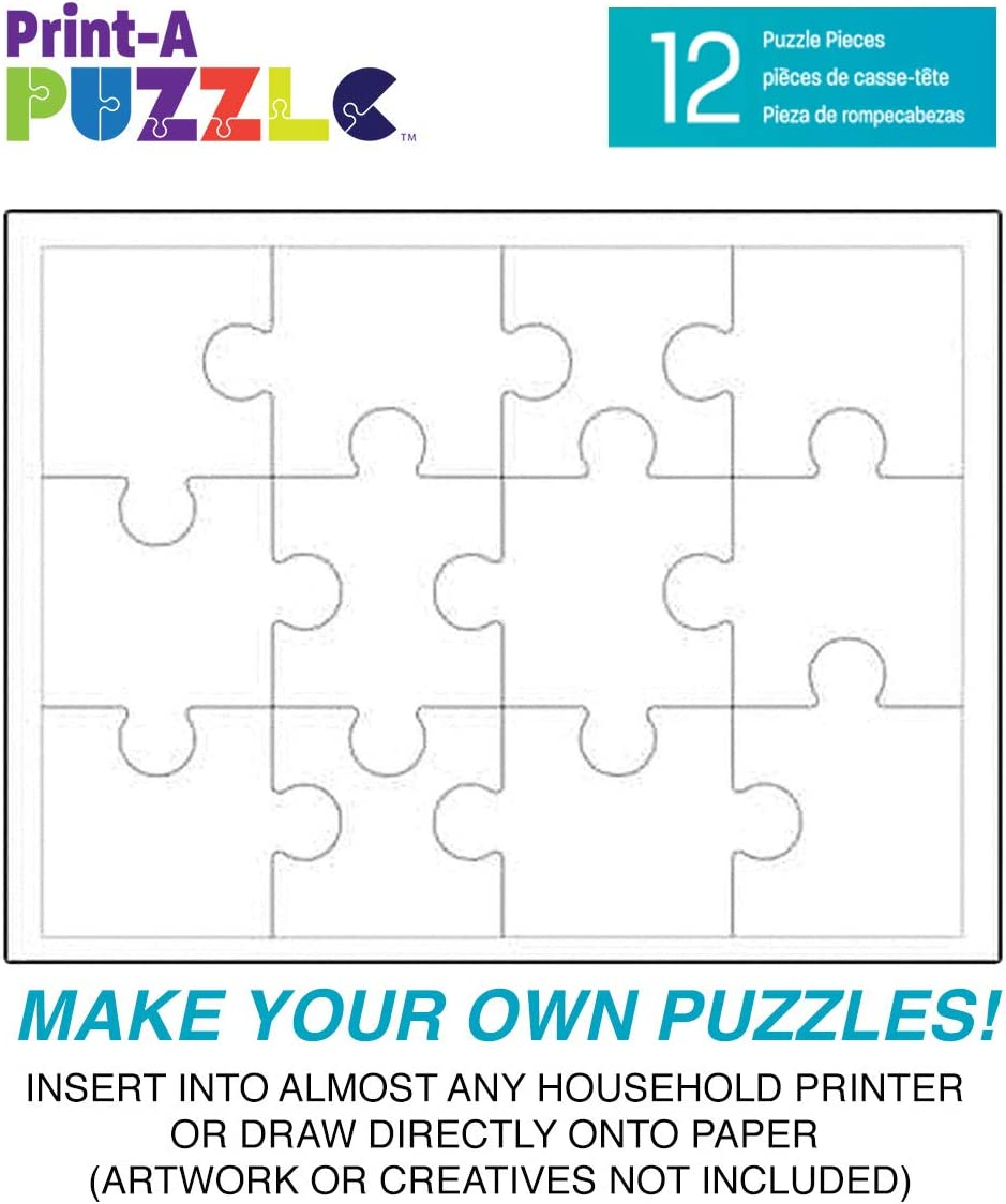 It is a photo of Make Your Own Jigsaw Puzzle Printable with regard to box name
