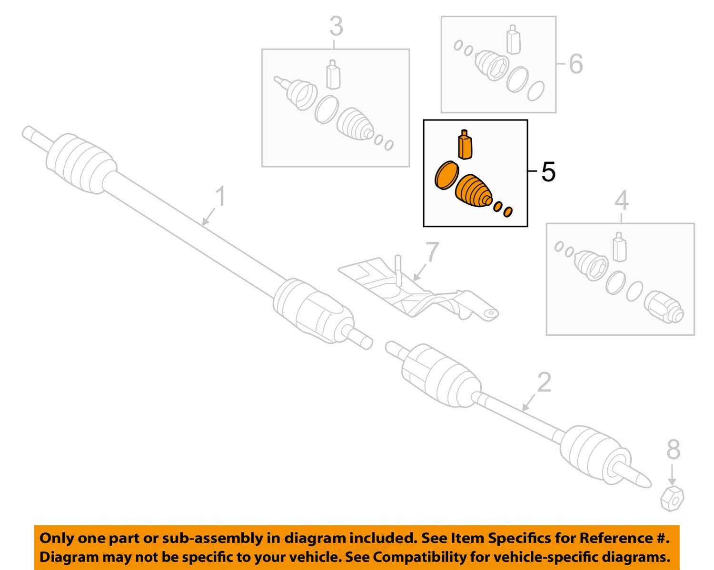 HYUNDAI OEM 15-18 Sonata-CV Joint Boot-Outer Right 49581C1050