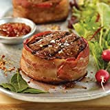 Omaha Steaks 12 (5 oz.) Bacon-Wrapped Top Sirloins