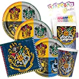 Amazoncom Paper Tableware Today Harry Potter Party Supplies for