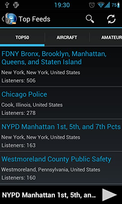 Amazon com: MyScanner - Police Radio Scanner: Appstore for Android