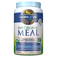 Garden of Life Raw Organic Meal Replacement Powder - Vanilla, 28 Servings, 20g Plant...