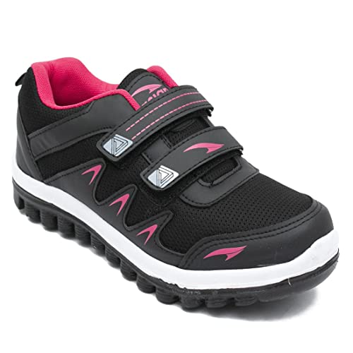 ceef8ace39f76f ASIAN Fashion-02 Black Pink Running Shoes