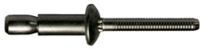 6.4 X 14.0 mm 250 Stü ck Alu/Alu P-Power Hochfeste Struktur Blindnieten Flachkopf Dichtnieten Nieten irsa24