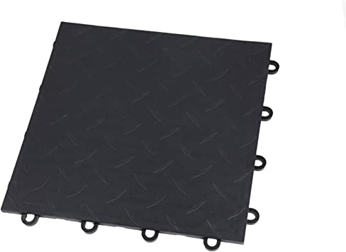 Graphite - 52-12x12 Tiles IncStores Coin Nitro Garage Tiles 12x12 Interlocking Garage Flooring