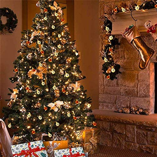 LED Lichterkette Urlaub Dekoration Glocke wünschen Flasche Stern Laterne Ball Party Familie Kette Urlaub Beleuchtung Dekoration Licht