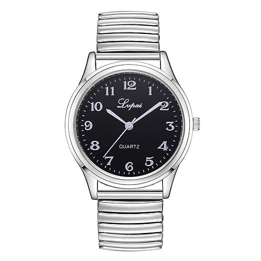 Relojes, huihui Deportes Resistente al Agua Casual Reloj analógico Cuarzo de Acero Inoxidable Militar Vintage