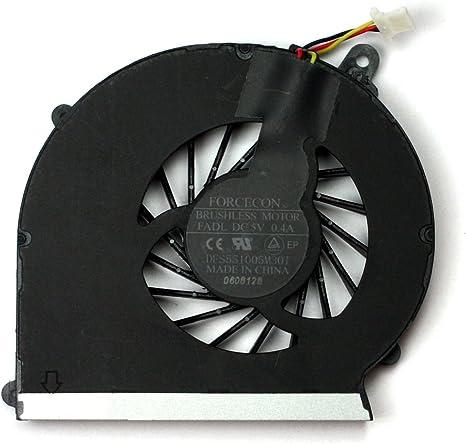 Power4Laptops Ventilador para Ordenadores portátiles Compatible ...