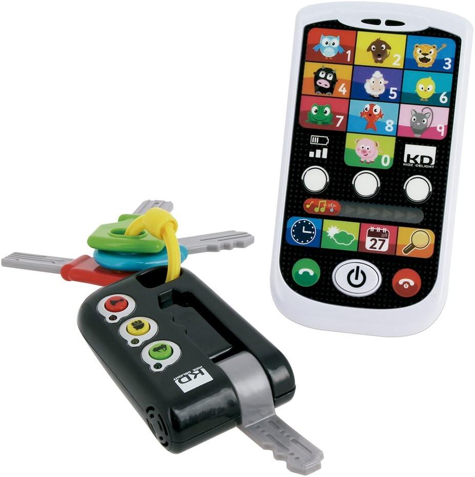 Cefa Toys 00429 Kidz Delight Kit movil y llaves para ni/ños