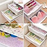 Contact Paper Color Dot Drawer Liner Mat Kitchen Placemat Shelf Desk Cabinet Pad Shelf Paper Drawer